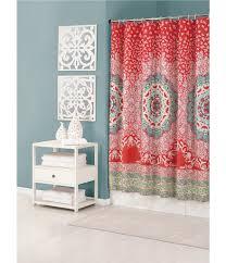 Shower curtains Modern Dillards Jessica Simpson Amrita Medallion Shower Curtain Dillards