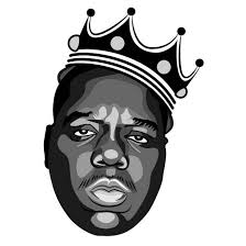 Notorious Big Vector Portrait Free Vector Image In Ai And Eps Format