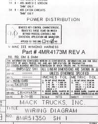 wiring diagram chassis series rb rd dm dmm 2001 2002 Mack Electrical Diagrams mack wiring diagram chassis series rb rd dm dmm 2001 2002 antique mack truck electrical diagrams