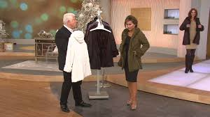 Dennis Basso Dennis Basso Reversible Textured Faux Fur Hooded Coat With Sandra