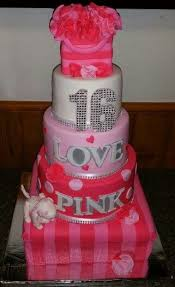 Victoria Secret Sweet 16 Cake Pink Novelty Cakes In 2019