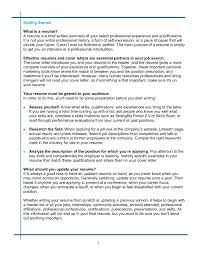 Update Your Resumes Writing Updating Your Resume Smith College Pages 1 15 Text