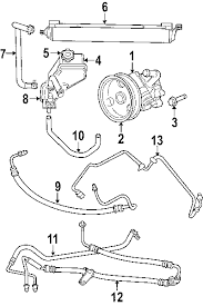 parts com® jeep p s return hose grand cherokee 5 7l gear to 2006 jeep commander limited v8 5 7 liter gas p s pump hoses