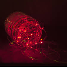Battery Operated Red Led Lights Pin On Christmas Lighting