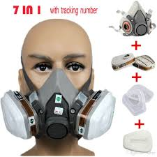 whole 6200 respirator gas mask chemical masks dust filter paint dust spray chemical gas mask half face mask construction mining masks for