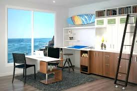 home office two desks. Two Person Office Layout Double Sided Desk Gorgeous Modern With View Of The Ocean . Desks Home
