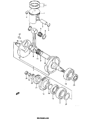 1986 suzuki lt250r quad racer crankshaft (model f g) parts best Lt250r Wiring Diagram schematic search results (0 parts in 0 schematics) 86 lt250r wiring diagram