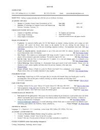 Sample Resume For Ms Computer Science Resume Samples With Free