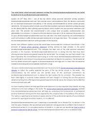 Examples Of Statement statement Of Purpose Graduate School
