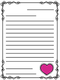 Valentines Day Letter Template Valentines Day Friendly Letter Templates Freebie By Jamiep123