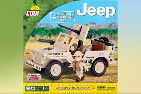 Jeep Willys MB North Africa 1943. COBI 24093 ... - Конструктор COBI