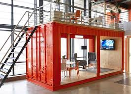 container office design. inhouse brand architects converted a shipping container into waiting room for cape town advertising firm the design team divvied up openplan office e
