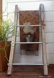 industrial chic furniture ideas. industrial chic display ladder easy diy furniture ideas