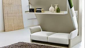 ... Murphy Wall Bed Couch Combo  With a Sofa in front