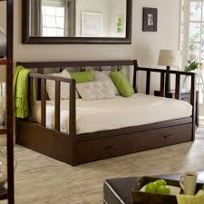 Best Daybed Designs Bedroom Natural Full Size Brown Wood Daybed With Trundle