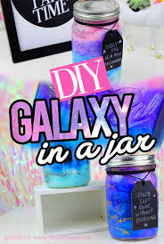 cool and fun projects to do at home. an extremely easy to do diy! learn how make a galaxy in jar with stuff you already have your home! this diy costs me nothing cool and fun projects at home