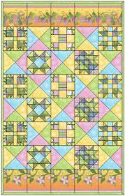 Free Block of the Month Quilt Pattern: Fairy Tale Garden ... & Free Block of the Month Quilt Pattern: Fairy Tale Garden Adamdwight.com