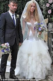 brides to be take note the top 10 worst celebrity wedding dresses