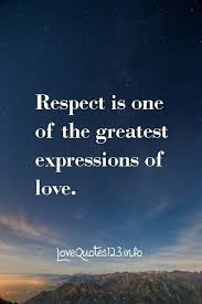 Love Respect Quotes