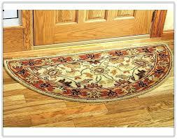 half circle rug half round rugs interior best crochet rugs crochet poufs crochet doormats crochet in half circle rug