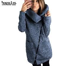 plus size winter coats fashion side zipper loose female er windbreaker womens spring jackets long jacket ns8578 black leather er jacket las