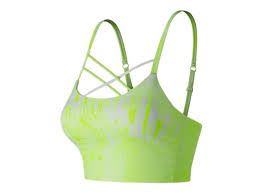 The Printed Feel The Cool Crop Bra WT91149 - New Balance