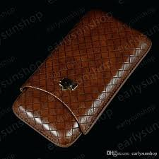 cigar travel case scotte portable travel cigar humidor case