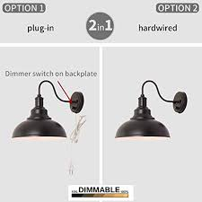 kingmi wall lamp dimmable wall sconce