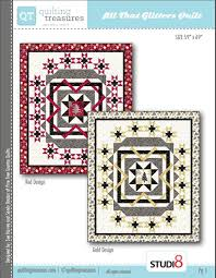 Free Quilting Patterns - Quilted Christmas & Quilting Treasures All That Glitters Free Pattern Adamdwight.com