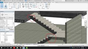 Full Precast building on Revit Stairs lesson 5