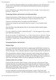 Mla Formatting Instructions Formatting A Research Paper The Mla Style Center