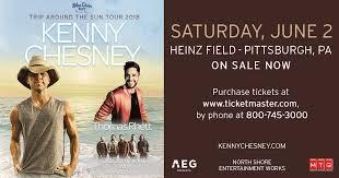 Trip Around The Sun Tour Kenny Chesney Heinz Field