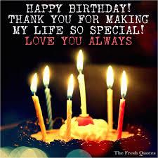 Thanks For Happy Birthday Wishes Quotes Birthdaybuzz
