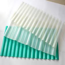high quality pvc clear corrugated plastic roof sheets translucent roofing covering