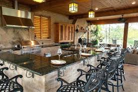 rustic outdoor kitchen ideas rustic outdoor kitchen project
