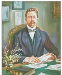 Портрет Чехова художник Наталья Муравская портрет чехова