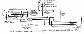 daewoo korando power distribution ciricuit wiring diagram 58546 power seat wiring diagram of 1965 chrysler corp