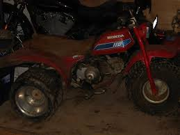 my newest project 1982 honda atc110 right after picking it up