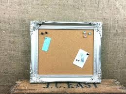 framed bulletin board