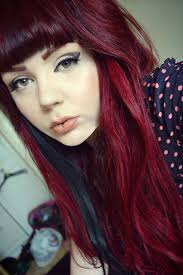 Dark Red To Light Red Hair Really Love This Dark To Light Red Hair Burgundy Hair