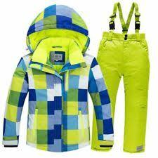 Зеленая зимняя спортивная одежда для девочек | eBay