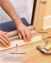 exterior door threshold install. how to replace an exterior door threshold install d