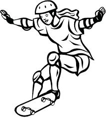 skateboard coloring pages skateboarding coloring page skateboard coloring pages free