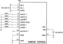 stepper motors integrated drivers 17mdsi wiring diagram