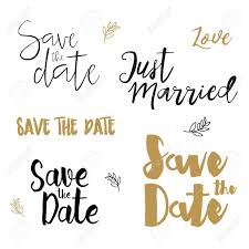 Save The Date Images Free Save The Date Wedding Invitation Labels Save The Date Brush