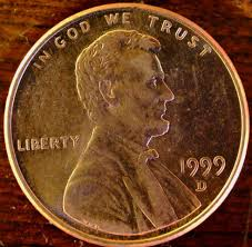 Penny Values Chart 2017 Have A 1999 D Penny Or A 1999 Penny Error Like The 1999