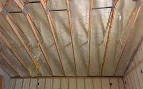 save by spray foaming your attic