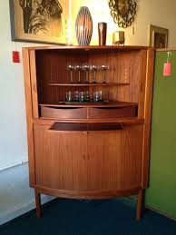 corner bar furniture. Contemporary Corner Red Snapper  Midcentury Danish Corner Bar Cabinet With Tambour Doors  Beautiful Example Of Mid Century Modern Furniture At Its Finest Portland  For Furniture N