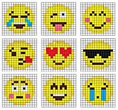 Emoji Perler Bead Patterns