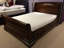 mahogany bed frame. Brilliant Mahogany Brand New Loxley King Size Sleigh Solid Mahogany Bed Frame To Mahogany Bed Frame E